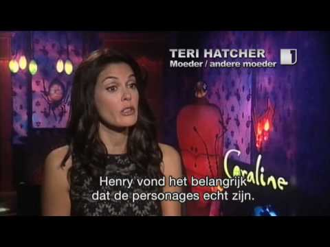 Henry Selick & Teri Hatcher talk about Coraline