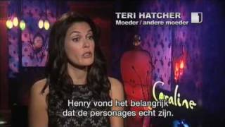 Henry Selick Teri Hatcher Talk About Coraline Youtube