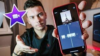 кАК создать КРУТОЕ ВИДЕО на телефоне? обзор iMovie