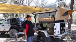 Tuff Stuff Xtreme Base Camp Expedition Trailer Walkaround