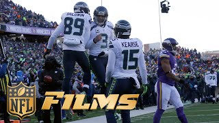 Doug Baldwin Mic'd Up | Seahawks vs. Vikings (Wild Card Playoffs) | NFL Films | Sound FX