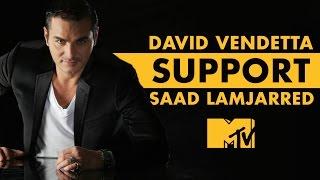 David Vendetta support Saad Lamjarred (MTV Awards) | دافيد فونديتا يدعم سعد لمجرد