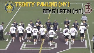 HS Lacrosse - Trinity Pawling vs. Boys