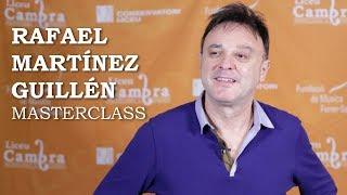 Masterclass amb Rafael Martínez Guillén - Cicle Liceu Cambra