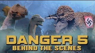 Danger 5 Behind the Scenes of the Stop Motion Dinosaurs