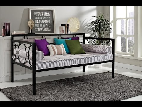 Dhp Rebecca Metal Daybed Youtube