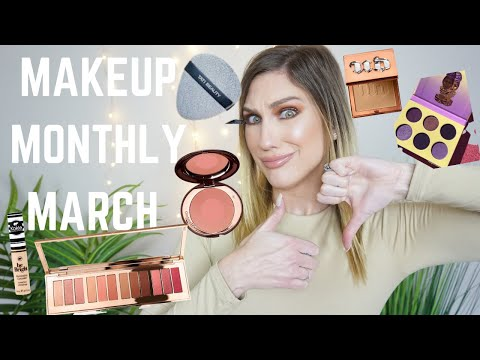 MAKEUP MONTHLY WRAP UP MARCH 2020   FAVES, FAILS + FINE PRODUCTS