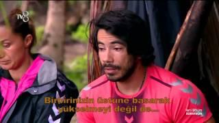Serkan Adaya Gelip Arkadaşlarına Veda Etti | Survivor 2016