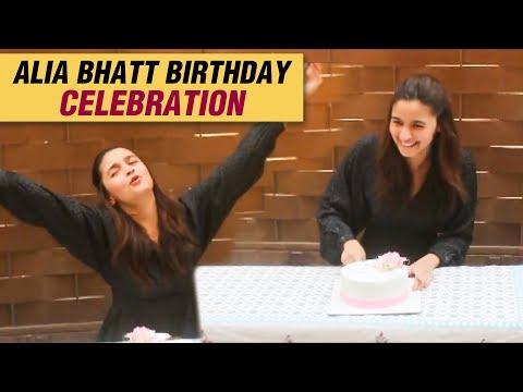Alia Bhatt Celebrates BIRTHDAY With Media Mp3