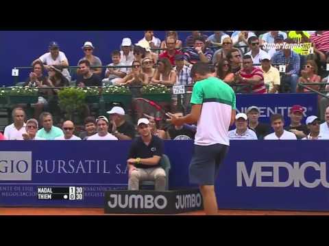 Rafael Nadal vs Dominic Thiem FULL MATCH HD Argentina Open 2016 PART 1