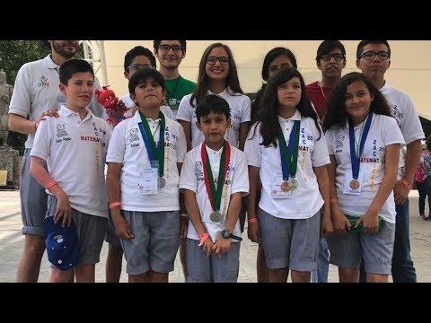 Niños zacatecanos Campeones en Olimpiada Nacional De Matemáticas