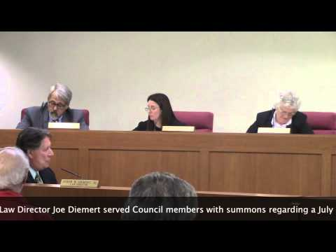 Macedonia law director issues summons to Councilmembers August 27 2015