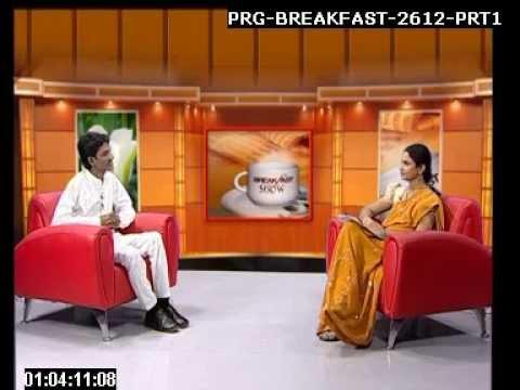 Guruji Interview Giving to R  tele vision part-1