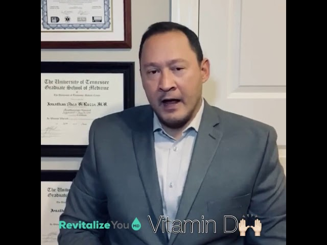 Dr  DiRuzzo speaks on the Importance of VITAMIN D