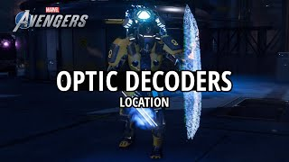 Marvel's Avengers - Optic Decoders Location (PYM Assignment)