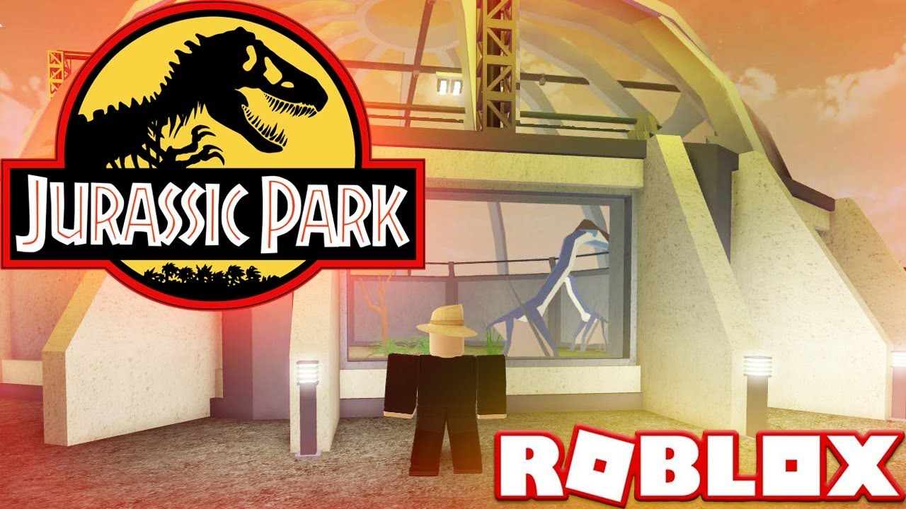 Roblox Jurassic Tycoon Part 1 Lets Play Dinosaurs Park Gaming Showcase Video Youtube