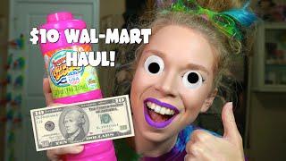 10 DOLLAR WAL-MART CHALLENGE!