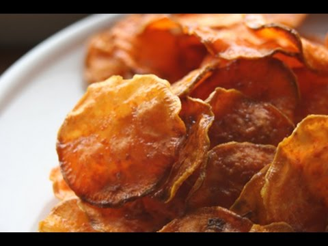 sweet potato chips // chips de camote