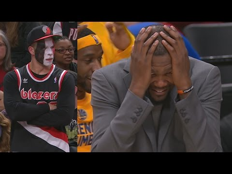 Blazers Blew 16 Point Lead! McGee's Oop Takes the Lead! Warriors Blazers Game 3