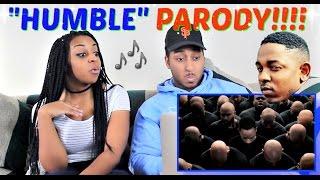 Hilarious HUMBLE Parody (Kendrick Lamar) By Tutweezy REACTION!!!