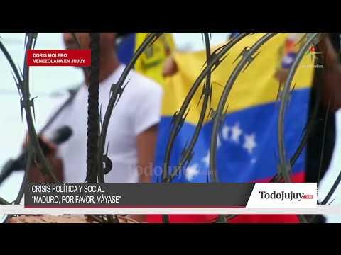Piden ropa y alimentos para los venezolanos que residen en Jujuy