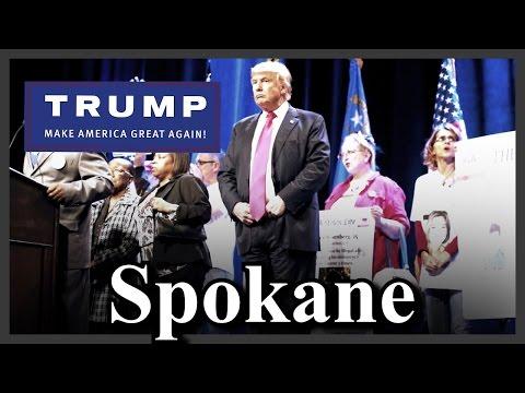 LIVE Donald Trump Spokane Washington MAGA Rally FULL SPEECH HD STREAM Convention Center (5-7-16) ✔