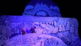 Кукольный спектакль «Морозко»  -  Дубна 03.01.2015 г. Dubna