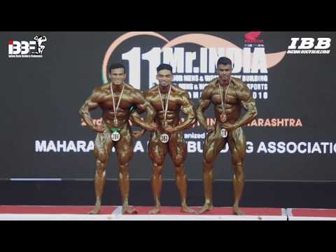 IBBF 11th Mr. INDIA 2018 All Winners Summary