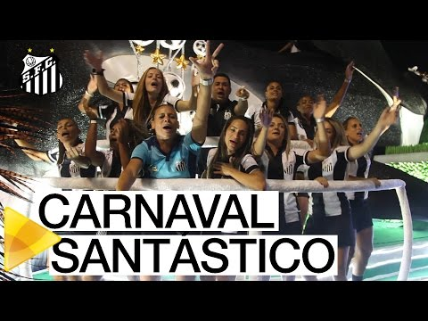 Santos FC participa do Carnaval do Rio