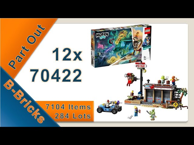 Lego 70422 für meinen Bricklink-Store ausparten, Part Out Party #02