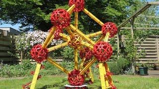 Atomium Brussels scale model made of fischertechnik