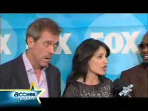 Access Hollywood Interview Hugh Laurie Lisa Edelstein