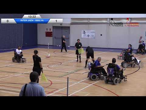 Inter de Jáen - Isbilya | J. 1 Liga Nacional PowerChair Football