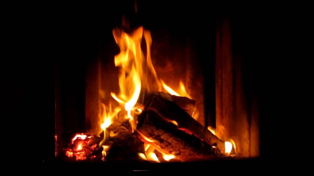 Fireplace 3d Wallpaper Zwei Stunden Kaminfeuer In Hd Youtube