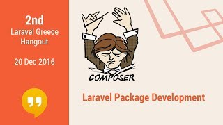 2nd Hangout: Laravel package development