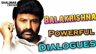 Balakrishna Powerful Dialogues || Telugu Punch Dialogues