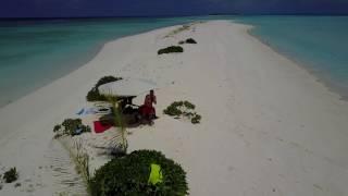 DJI Mavic Pro at the Maldives. A fight  with ravens