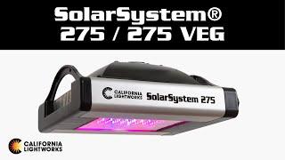 LED svetlá - SolarSystem® 275 / 275 Veg