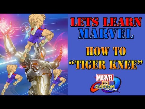 "Lets learn Marvel! - How to ""Tiger Knee"" a move"