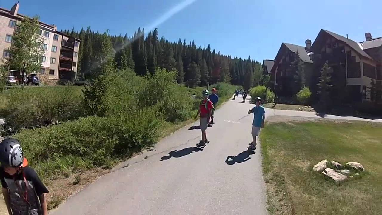 Camp woodward longboarding