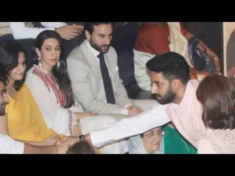 OMG : Abhishek Bachhan Ignored Karishma very brutally !