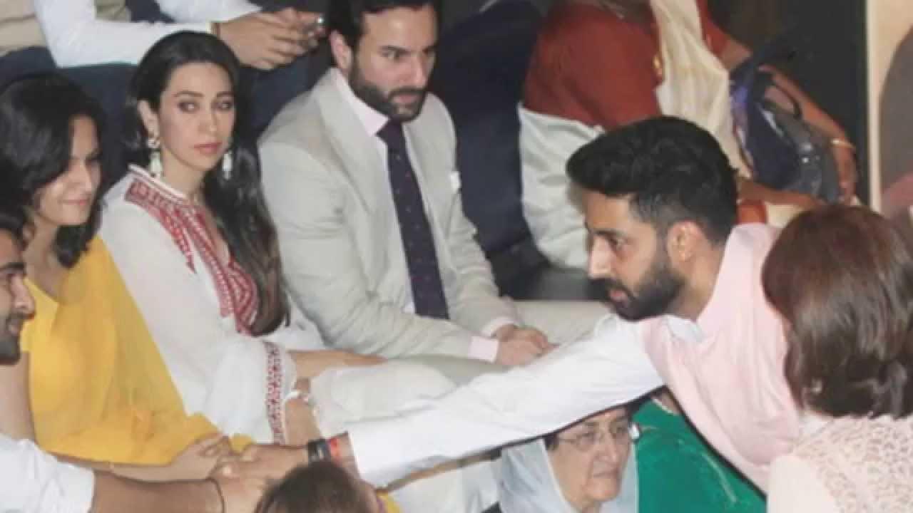 OMG Abhishek Bachhan Ignored Karishma Very Brutally