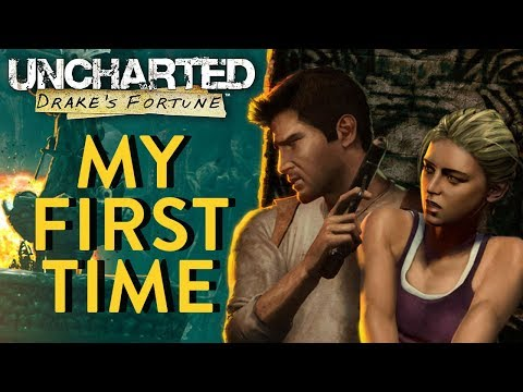 MY FIRST TIME PLAYING UNCHARTED | Uncharted: Drake's Fortune