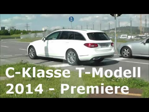 premiere mercedes c klasse t modell 2014 erlk nig ungetarnt s205 new c class t model. Black Bedroom Furniture Sets. Home Design Ideas