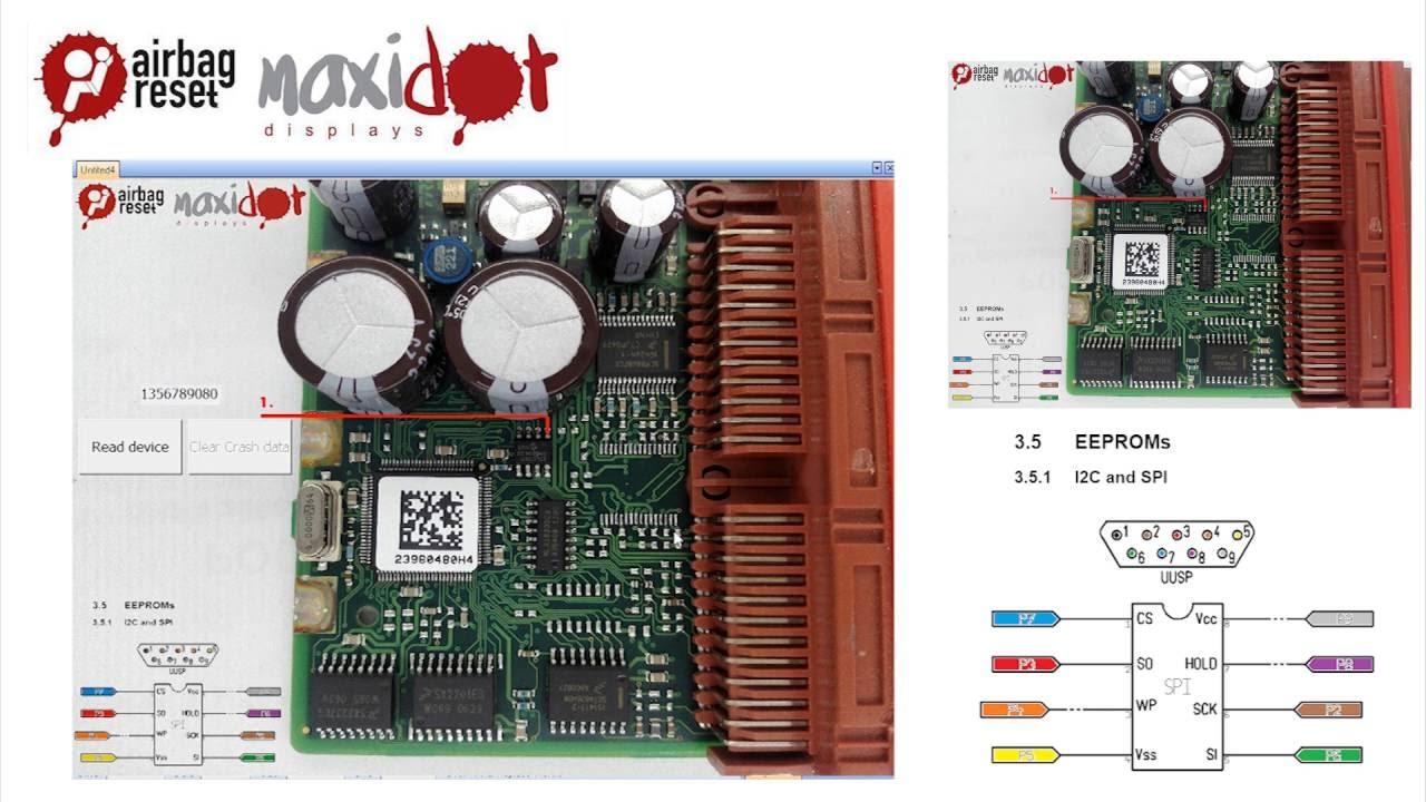 fiat ducato 1356789080 trw 95320 airbag control unit [ 1280 x 720 Pixel ]