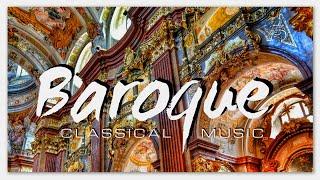 Baroque Classical Music Selection Non Stop | Albinoni Vivaldi Pergolesi Corelli