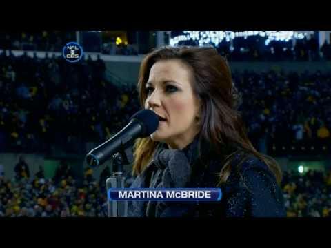 Martina McBride Star Spangled Banner GREATEST LIVE PERFORMANCE National Anthem Independence Day