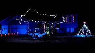 """Treasure Planet"" Christmas Light Show"