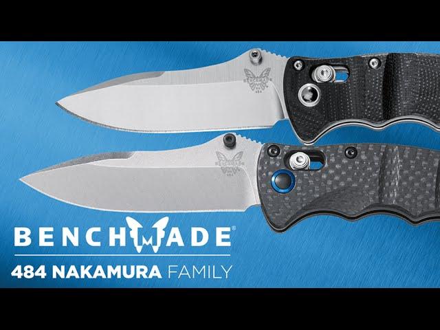 Benchmade 484 Nakamura AXIS® Family - Overview