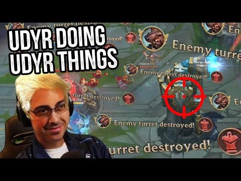 JUST UDYR DOING UDYR THINGS!!! | AD + AP DYR - Trick2G